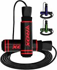 RDX Adjustable Jump / Skipping Rope Gym Speed Lose Weight MMA Boxing Workout US image