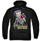 Betty Boop NOT YOUR AVERAGE MOTHER Biker Betty Licensed Sweatshirt Hoodie $43.9 USD on eBay