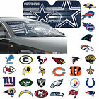 "NFL 32 Teams Available Car Truck Front Windshield Accordion SunShade 27.5"" x 58"" $17.99 USD"
