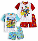 Boys Paw Patrol Pyjamas New Kids Short Sleeved Chase Marshall PJ Set 3 - 6 Years