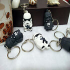 Star War Keychain Darth Vader Storm Trooper Action Key Ring Bag Car Key Jewelry