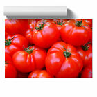 Poster Print Wall Art Red Tomatoes Landscape Modern Food & Drink Home Décor