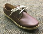Women's Authentic Born Sporty Lace Up Shoe Lusaka Sunset Brown Leather F20523