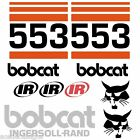 Bobcat IR 553 DECALS Stickers Skid Steer loader New Repro decal Kit