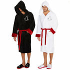 Assassin's Creed Assassin Fleece Bathrobe Classic Mens Robe Soft Dressing Gown