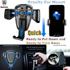 360° Universal Gravity Car Mount Air Vent Holder Cradle For iPhone Samsung GPS