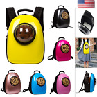 Dog Cat Pet Carrier Astronaut Capsule Backpack Transparent Breathable Travel Bag