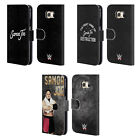 OFFICIAL WWE SAMOA JOE LEATHER BOOK WALLET CASE COVER FOR SAMSUNG PHONES 1