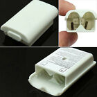 AA Battery Pack Back Cover Shell White Black Case Kit For Xbox360 Controlle