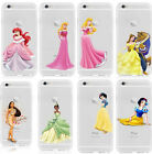 For iPhone Series Kid's Gift Princess Decoration Crystal Back Phone Case Cover