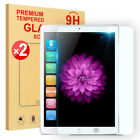 2X Premium Tempered Glass Screen Protector For iPad 2017 Air Mini 4 Pro 10.5 9.7