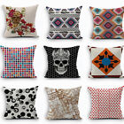 Hot-selling Home Decor Cushion Cover Cotton Linen Pillow Case