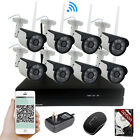 720P 960P IP Camera 8CH Wireless Wifi NVR Security System IR Cut HD Outdoor CCTV