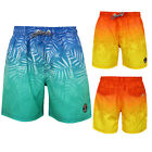 Tokyo Laundry Childs Cleopas Designer Swimming Shorts Tropical Fade Board Trunks