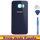 COVER REAR BATTERY FOR SAMSUNG GALAXY S6 Blue / REPLACEMENT COMPATIBLE