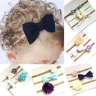3Pcs Baby Girls Kids Infant Toddler Flower Bow Headband Hair Band Accessories