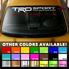 "Windshield Banner Vinyl Decal Sticker 40x4"" for TRD 4RUNNER TACOMA TOYOTA TUNDRA"