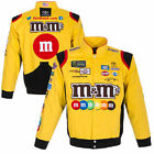 JH Design Kyle Busch Yellow M&M's Twill Jacket - NASCAR