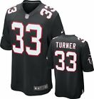 Atlanta Falcons Michael Turner #33 NFL Youth Game Jersey,  Black
