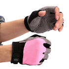 Women Cycling Gloves Half-Finger Pad Breathable Mountain Road Bike Bicycle S-XL