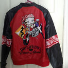 New Betty Boop JH Design Group Faux Leather Jacket Dangerous Curves Ahead $70.0 USD