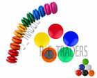PACK OF 6 12 24 ROUND MAGNETS  MEMO NOTES FRIDGE WHITEBOARD MAGNETIC BUTTONS