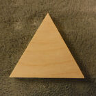 4 Inch Baltic Birch wooden triangle, Hand cut