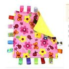 Baby Taggies Colors Security Blanket Lovey Square Super Soft Tactile Confetti Y