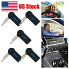 5 * Wireless Bluetooth Receiver 3.5mm AUX Music MP3 Car Handsfree Adapter Kits
