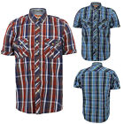 Tokyo Laundry Mens Designer Santos Shirt Striped Short Sleeved Top WAS£30 NOW£15