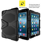 Shockproof Armor Rubber Rugged Stand Hard Case Screen Cover For iPad Mini 1 2 3