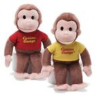 Curious George Plush Pals Cuddly Stuffed Yellow or Red Shirt Toy Doll New 20 cm