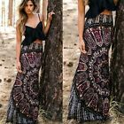 Tribal Boho hippie maxi skirt great for summer party nwt