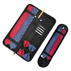 Mens Nylon Necktie Tie Zippered Travel Case Bag Holder Organizer Storage Pocket