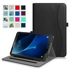 For Samsung Galaxy Tab A 10.1 Case Multi-Angle Folio Stand Cover w/ Card Pocket