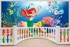 Huge 3D Balcony Fantasy Under The Sea Wall Stickers Mural Wallpaper 116