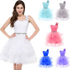 Tutu Girl Short Prom Dresses Bridesmaid Cocktail Wedding Formal Evening Dress
