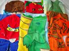 Boys Poncho Hooded Beach Towel  Age 5 - 9  Includes New patterns and Panda