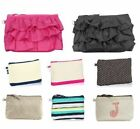 Thirty one mini zipper pouch wallet purse bag 31 gift nature swiss ruffle NEW