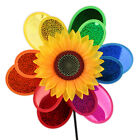 Baby Windmill Wind Spinner Whirligig Children Multicolors Toys Classic Rainbow #