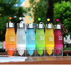 H2O FRUIT INFUSER INFUZER INFUSING WATER BOTTLE FOR GYM SPORTS BIKE RUNNING CAMP