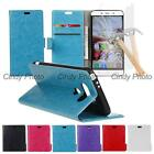 For LG Optimus G5 H830 H840 H850 2X Glass Film PU Leather Flip Case Cover Wallet
