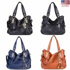 Women PU Leather Handbag Shoulder Bag Tote Purse Messenger Bag Hobo Satchel Lady