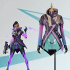Game Overwatch Sombra Nanosuit Purple Cosplay Costume Custom Made