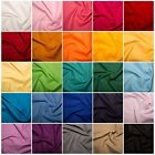 Cotton Fabric - 40 Solid Colours, 135cm Width, 160GSM, 100% Cotton Craft Fabric