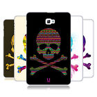 HEAD CASE DESIGNS SKULLS AND CROSSBONES HARD BACK CASE FOR SAMSUNG TABLETS 1