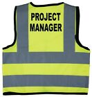 Baby/Chilren/Kids Hi Vis Safety Jacket/Vest Project Manager Size 0-9Years