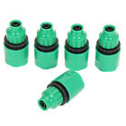 """5pcs 1/4"""" 3/8"""" Garden irrigation Water Hose Connector Pipe Joiner Mender Patio"""