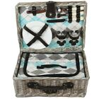 ZQ1-2050 Fashionable, washed wicker picnic basket for 2 people