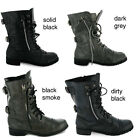 NEW LADIES MILITARY ARMY COMBAT WORKER BOOTS SIZES 3-8
